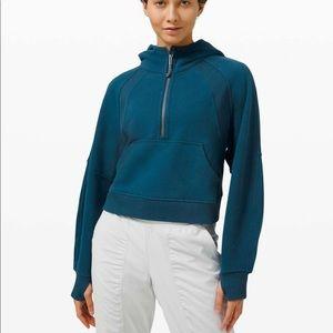 Lululemon Scuba oversized 1/2 zip hoodie